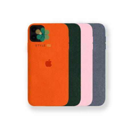 خرید قاب Alcantara گوشی اپل ایفون Apple iPhone 12 مدل مخملی