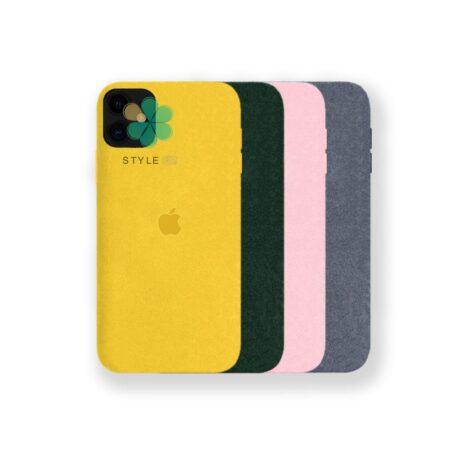 خرید قاب Alcantara گوشی ایفون Apple iPhone 12 Mini مدل مخملی