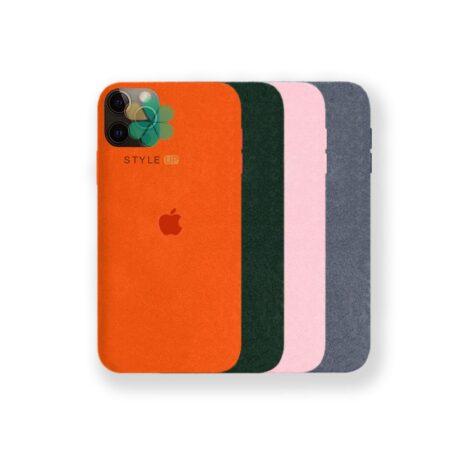 خرید قاب Alcantara گوشی ایفون Apple iPhone 12 Pro مدل مخملی