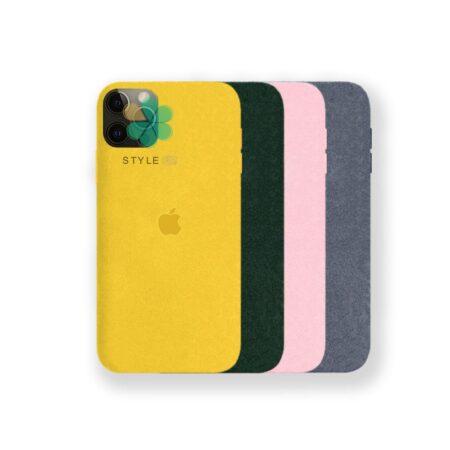 خرید قاب Alcantara گوشی ایفون Apple iPhone 12 Pro Max مدل مخملی