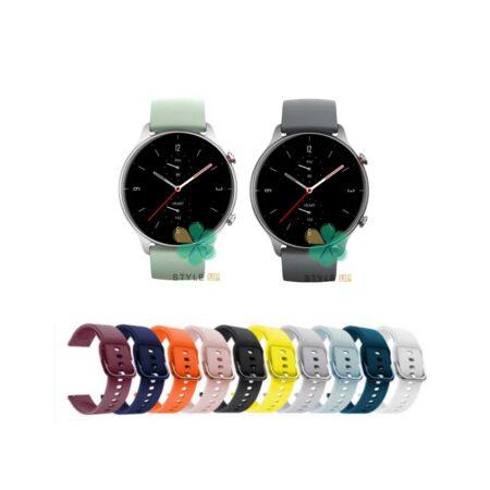خرید بند ساعت آمازفیت Amazfit GTR 2e مدل سیلیکونی نرم