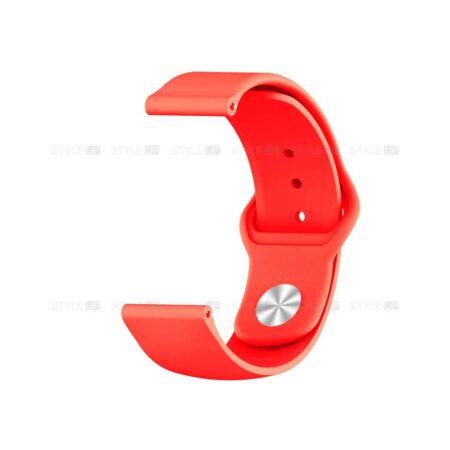 خرید بند سیلیکونی ساعت آمازفیت Amazfit GTS 2e مدل دکمه ای