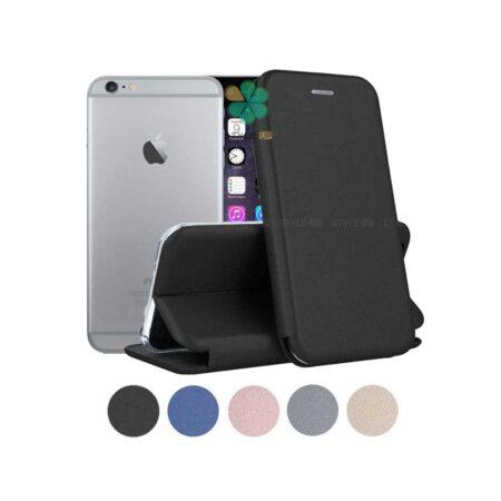 خرید کیف کلاسوری چرمی گوشی آیفون Apple iPhone 6 Plus / 6s Plus