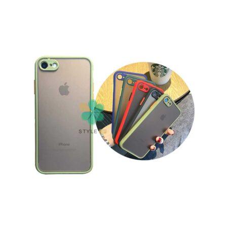 خرید قاب گوشی آیفون Apple iPhone 7 / 8 مدل پشت مات محافظ لنزدار