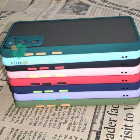 خرید قاب گوشی سامسونگ Galaxy S20 FE 5G مدل پشت مات محافظ لنزدار