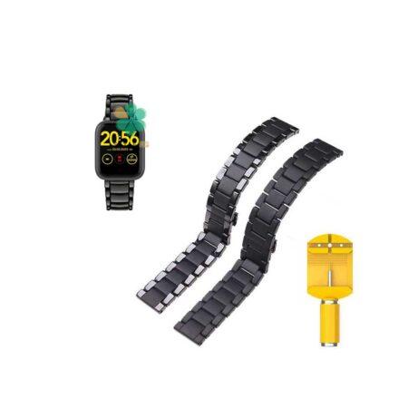 خرید بند فلزی ساعت شیائومی 1More Omthing E-Joy WOD001 مدل 3Bead Carbon