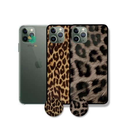 خرید قاب گوشی اپل ایفون Apple iPhone 11 Pro طرح پلنگی