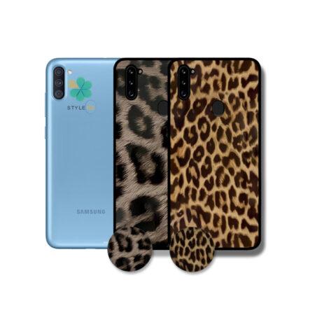 خرید قاب گوشی سامسونگ Samsung Galaxy A11 طرح پلنگی
