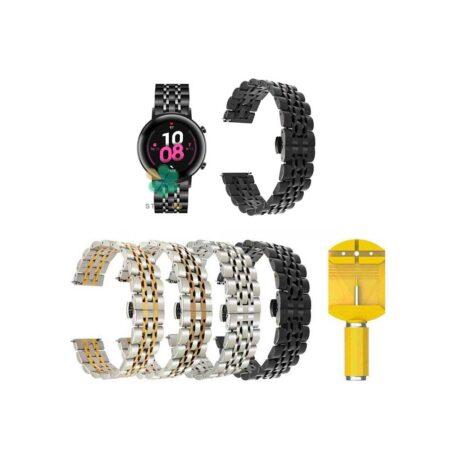 خرید بند ساعت هوشمند هواوی Huawei Watch GT 2 42mm استیل رولکسی