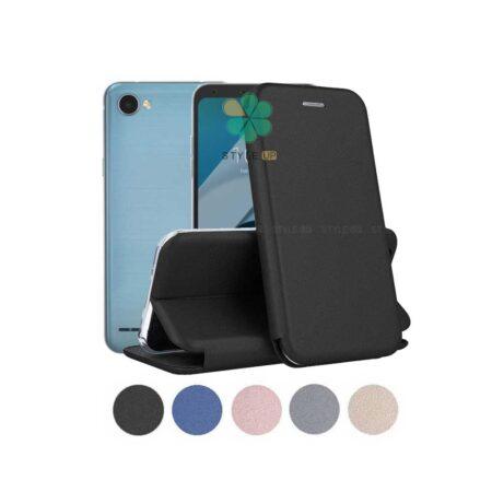 خرید کیف کلاسوری چرمی گوشی ال جی LG Q6
