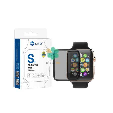 خرید گلس مات ساعت اپل واچ Apple Watch 44mm مدل LITO