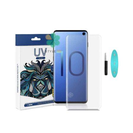 خرید محافظ صفحه UV گوشی سامسونگ Samsung Galaxy S10 برند LITO