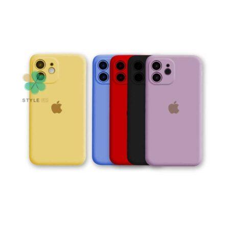 خرید قاب گوشی آیفون Apple iPhone 12 مدل سیلیکونی محافظ لنز دار