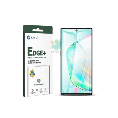 خرید گلس گوشی سامسونگ Galaxy Note 10 Plus مدل Lito Edge Plus