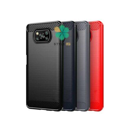 خرید قاب کربنی گوشی شیائومی Xiaomi Poco X3 طرح Metal