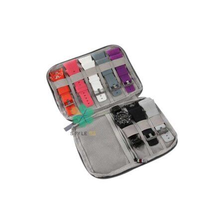 خرید کیف نگهدارنده بند ساعت مدل پارچه ای