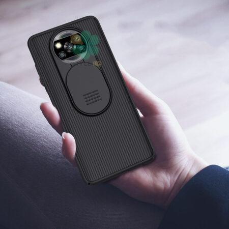 عکس قاب محافظ نیلکین گوشی شیائومی Poco X3 NFC مدل CamShield