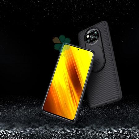 عکس قاب محافظ نیلکین گوشی شیائومی Poco X3 NFC مدل CamShieldعکس قاب محافظ نیلکین گوشی شیائومی Poco X3 NFC مدل CamShield