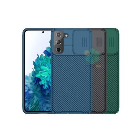 خرید قاب محافظ نیلکین گوشی سامسونگ Galaxy S21 5G مدل CamShield Pro
