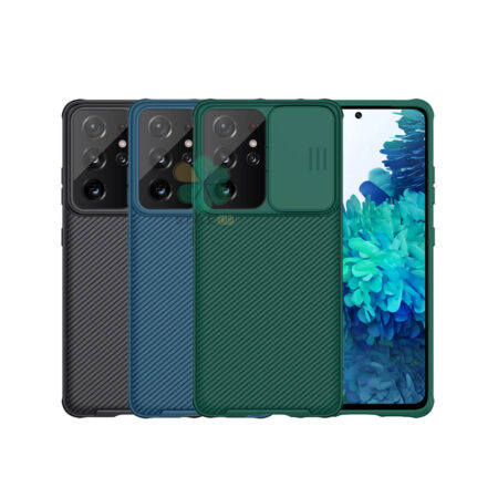 خرید قاب محافظ نیلکین گوشی سامسونگ Galaxy S21 Ultra 5G مدل CamShield Pro