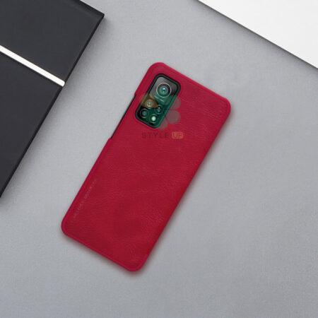 عکس کیف چرمی نیلکین گوشی شیائومی Xiaomi Mi 10T Pro 5G مدل Qin