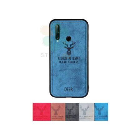 خرید قاب گوشی هواوی Huawei P40 Lite E پارچه ای طرح گوزن