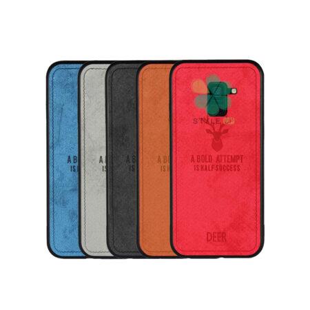 خرید قاب گوشی سامسونگ Samsung Galaxy A8 2018 پارچه ای طرح گوزن