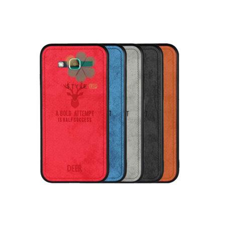 خرید قاب گوشی سامسونگ Galaxy J2 Prime پارچه ای طرح گوزن