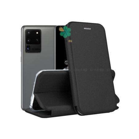 خرید کیف کلاسوری چرمی گوشی سامسونگ Galaxy S20 Ultra
