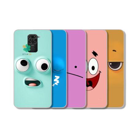 خرید قاب گوشی شیائومی Xiaomi Redmi Note 9 مدل Smiley