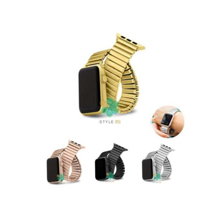 عکس بند فلزی ساعت اپل واچ Apple Watch 42/44mm مدل Solo One Bead