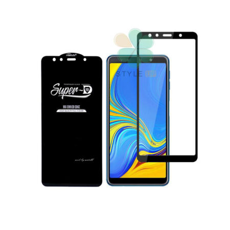 خرید گلس گوشی سامسونگ Samsung Galaxy A7 2018 تمام صفحه Super D