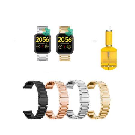 خرید بند ساعت شیائومی 1More Omthing E-Joy WOD001 استیل 3Pointers
