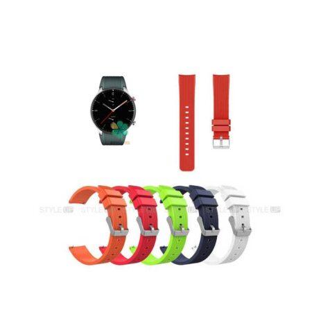 خرید بند سیلیکونی ساعت شیائومی Xiaomi Amazfit GTR 2 طرح گلکسی