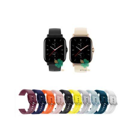 خرید بند ساعت شیائومی Xiaomi Amazfit GTS 2 مدل سیلیکونی نرم