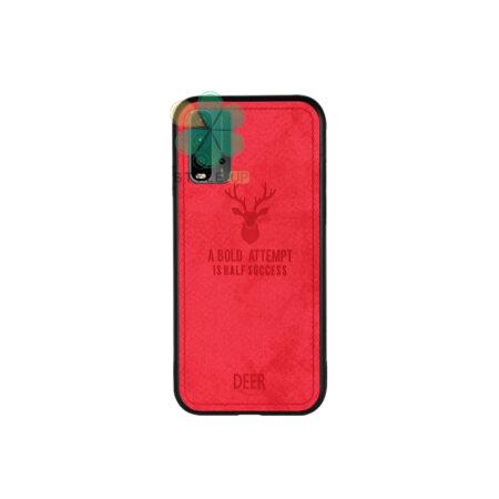 خرید قاب گوشی شیائومی Xiaomi Redmi 9T پارچه ای طرح گوزن