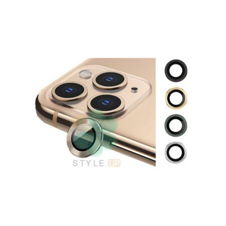 خرید گلس محافظ لنز دوربین گوشی اپل آیفون Apple iPhone 11 Pro مدل دور فلزی