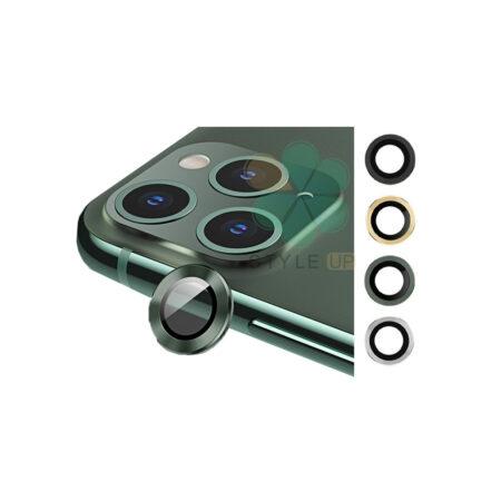 خرید گلس محافظ لنز دوربین گوشی آیفون Apple iPhone 11 Pro Max مدل دور فلزی