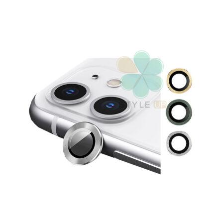 خرید گلس محافظ لنز دوربین گوشی اپل آیفون Apple iPhone 12 مدل دور فلزی