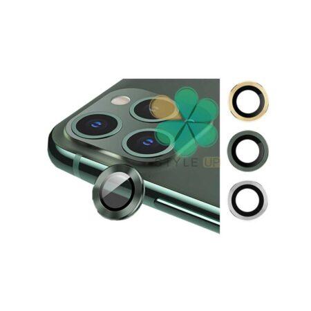 خرید گلس محافظ لنز دوربین گوشی اپل آیفون Apple iPhone 12 Pro مدل دور فلزی