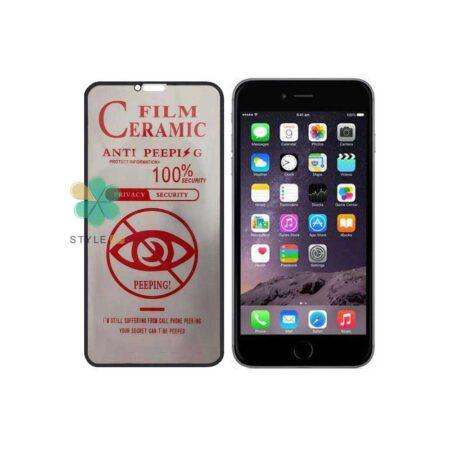 خرید گلس سرامیک پرایوسی گوشی ایفون Apple iPhone 6 Plus / 6s Plus