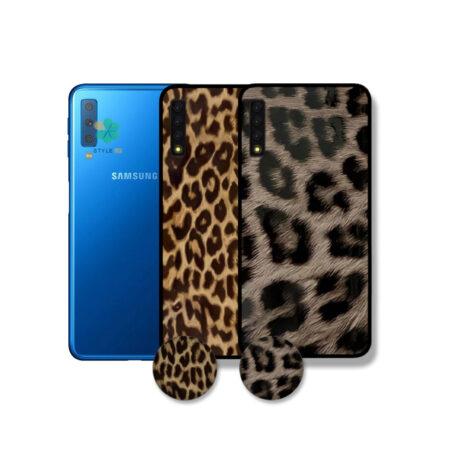 خرید قاب گوشی سامسونگ Samsung Galaxy A7 2018 طرح پلنگی