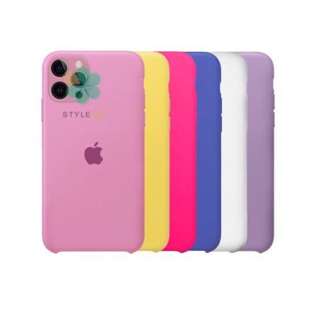 خرید قاب گوشی آیفون Apple iPhone 12 Pro Max مدل سیلیکونی محافظ لنز دار
