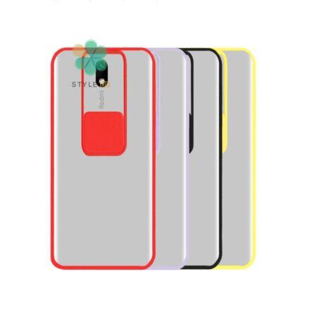 خرید قاب گوشی شیائومی Xiaomi Redmi 8A مدل پشت مات کم شیلد رنگی