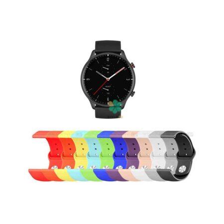 خرید بند سیلیکونی ساعت شیائومی Xiaomi Amazfit GTR 2 مدل دکمه ای