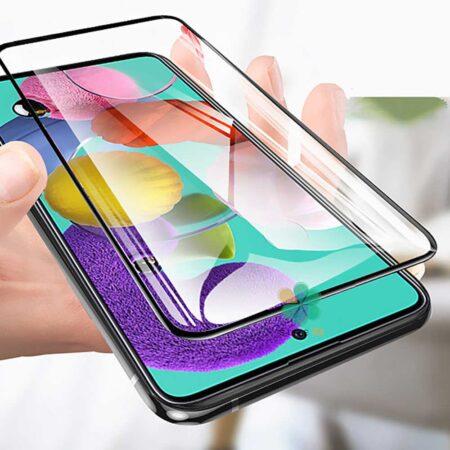 عکس محافظ صفحه گوشی سامسونگ Galaxy F62 تمام صفحه مدل OG