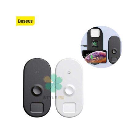 خرید شارژر بیسیم سه کاره آیفون اپل واچ و ایرپاد بیسوس مدل Baseus BS-IW04