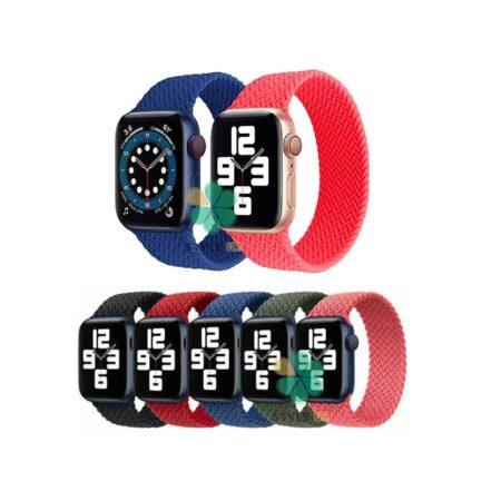 خرید بند ساعت اپل واچ Apple Watch 38/40mm مدل Braided Silicone Solo Loop
