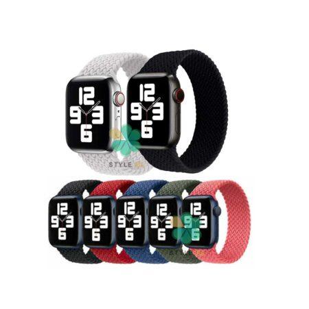 خرید بند ساعت اپل واچ Apple Watch 42/44mm مدل Braided Silicone Solo Loop