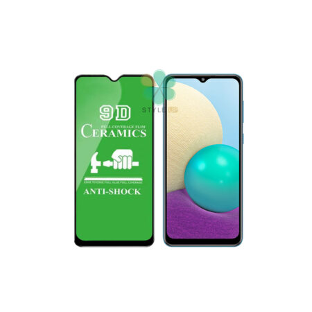 خرید گلس سرامیکی گوشی سامسونگ Samsung Galaxy A02 مدل تمام صفحه